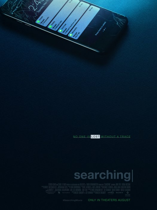 Searching - Portée disparue : Affiche