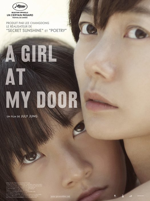A girl at my door : Affiche
