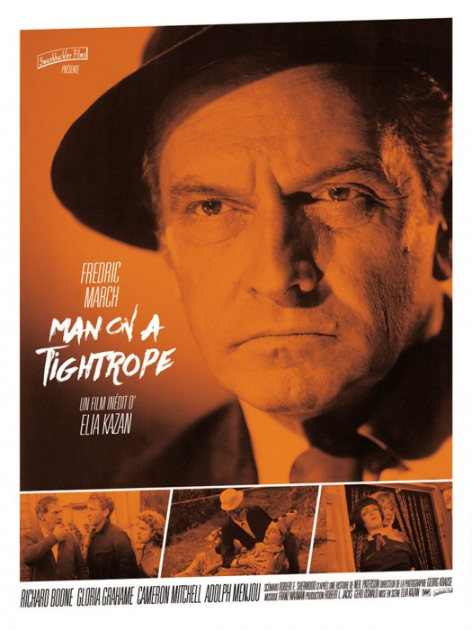 Man on a Tightrope : Affiche