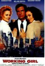 Affiche de Working Girl