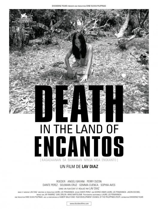 Death in the Land of Encantos : Affiche