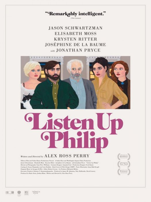Listen Up Philip : Affiche