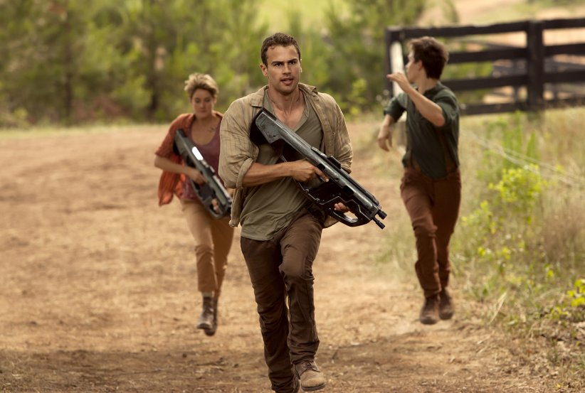 Divergente 2 : l'insurrection : Photo Miles Teller, Shailene Woodley, Theo James