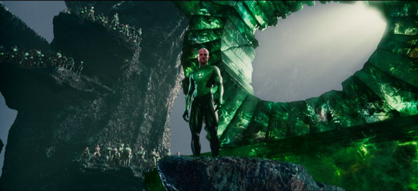 Green Lantern : Photo Mark Strong