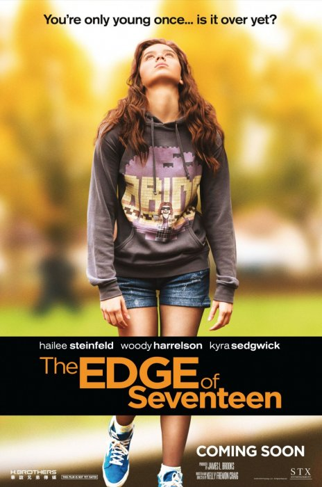 The Edge of Seventeen : Affiche