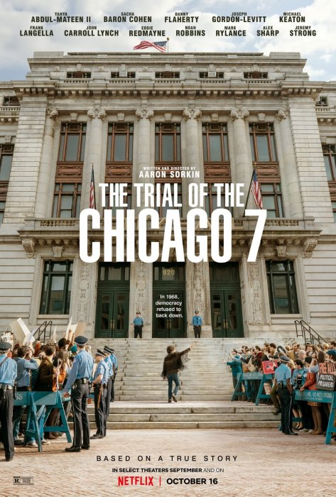 The Trial of the Chicago 7 : Affiche