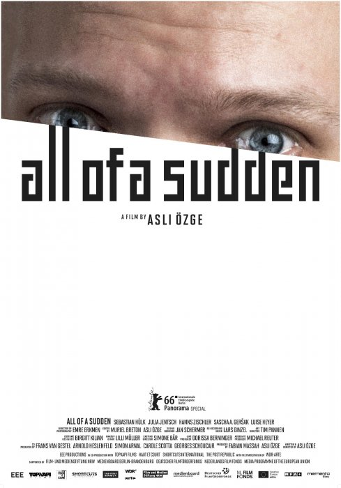 All of a sudden : Affiche