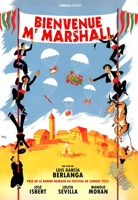 Bienvenue Mr Marshall : Affiche