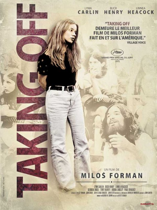 Taking Off : affiche