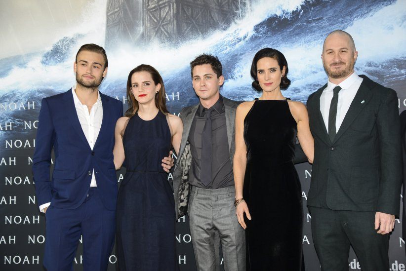 Noé : Photo promotionnelle Darren Aronofsky, Douglas Booth, Emma Watson, Jennifer Connelly, Logan Lerman