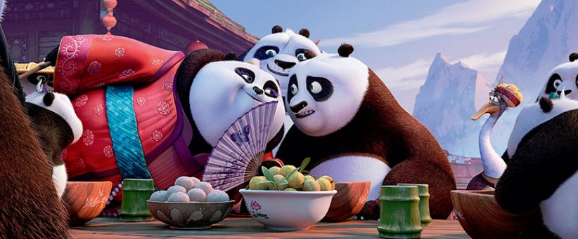 Kung Fu Panda 3 : Photo