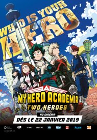 Affiche de My Hero Academia : Two Heroes (CGR Events 2019)