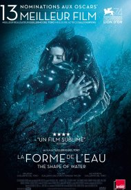 Affiche de La Forme de l'eau - The Shape of Water