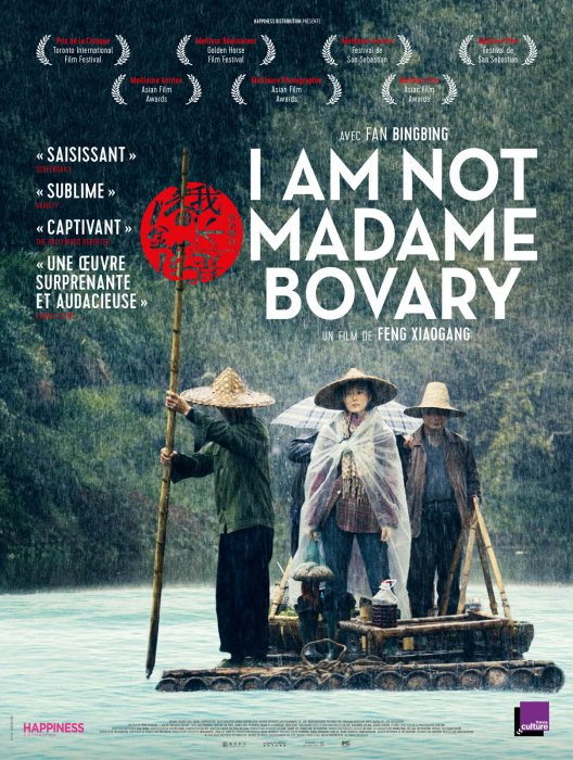I Am Not Madame Bovary : Affiche