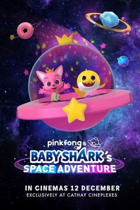 Pinkfong and Baby Shark's Space Adventure : Affiche