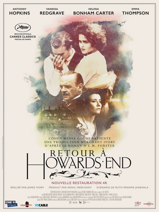 Retour à Howards End : Affiche