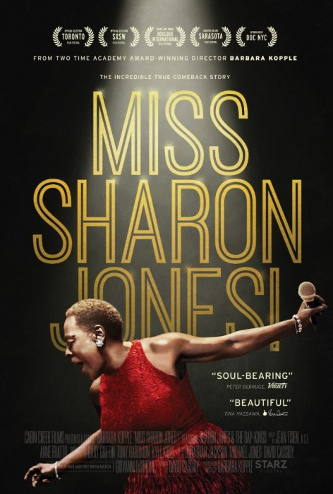 Miss Sharon Jones! : Affiche