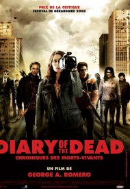 Affiche de Diary of the Dead - Chronique des morts vivants