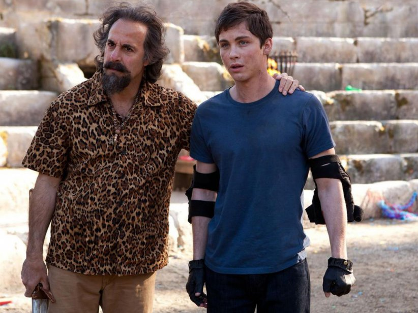 Percy Jackson : La mer des monstres : Photo Logan Lerman, Stanley Tucci
