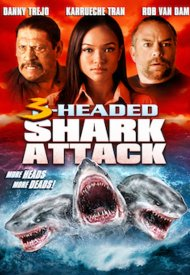 Affiche de 3-Headed Shark Attack