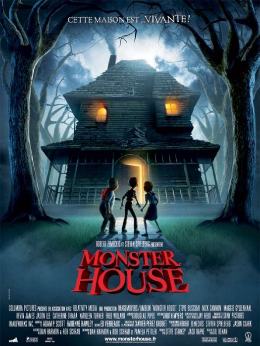 Monster House : affiche Gil Kenan