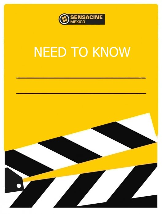 Need to Know : Affiche