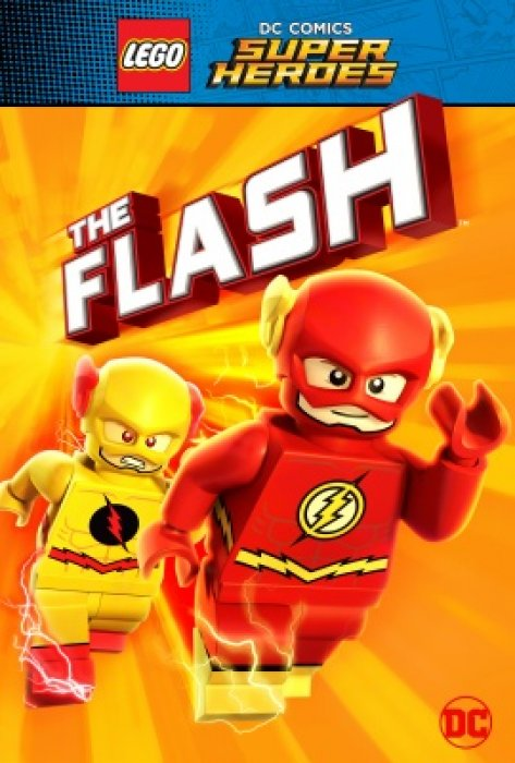 LEGO DC Super Heroes: The Flash : Affiche