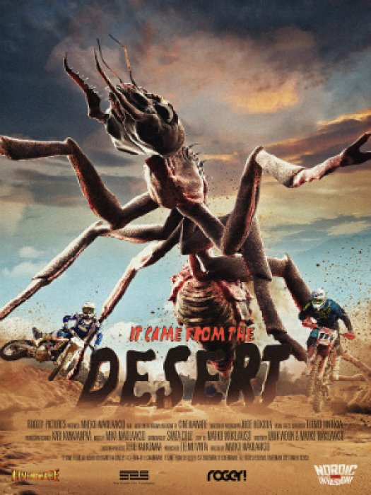 It Came From the Desert : Affiche