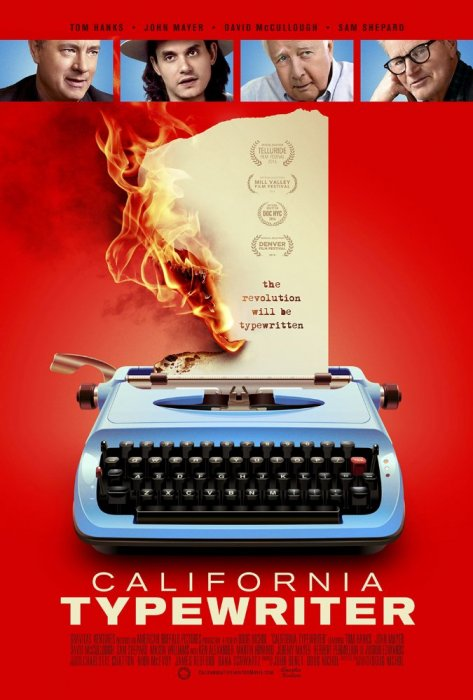 California Typewriter : Affiche