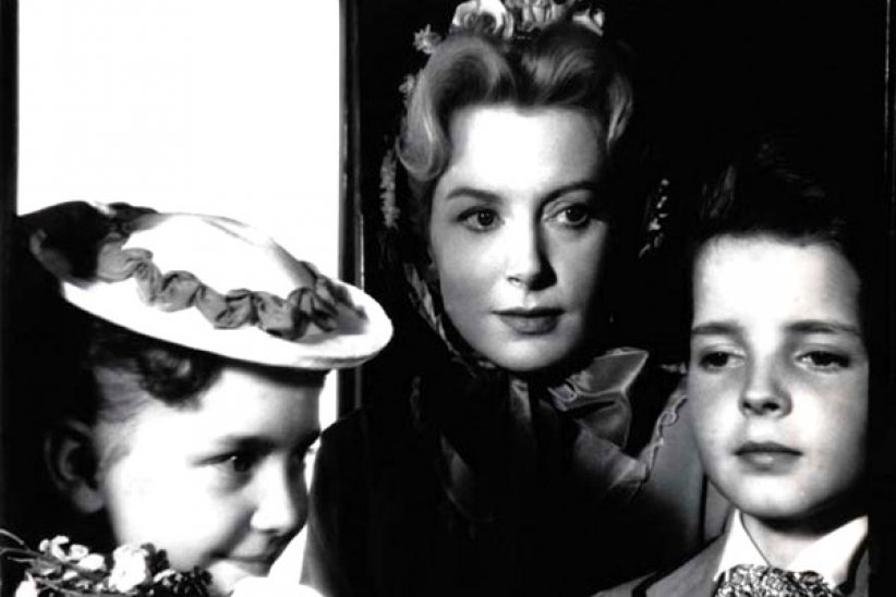 Les Innocents : photo Deborah Kerr, Jack Clayton, Martin Stephens, Pamela Franklin