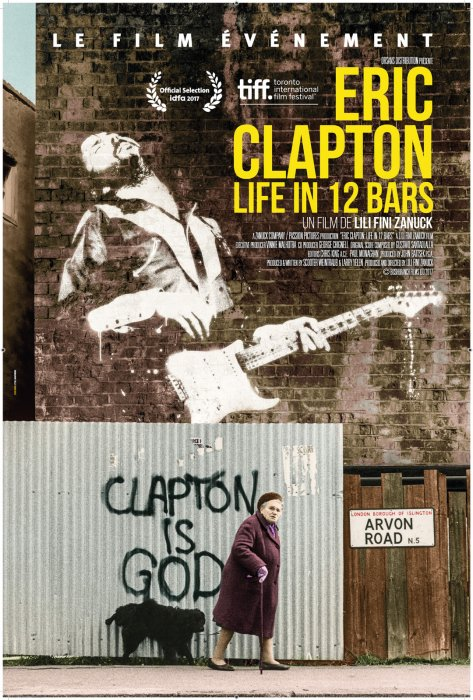 Eric Clapton: Life in 12 Bars : Affiche