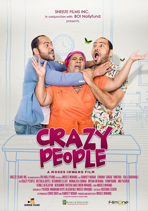 Crazy people : Affiche