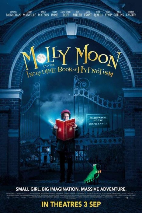 Molly Moon and the Incredible Book of Hypnotism : Affiche