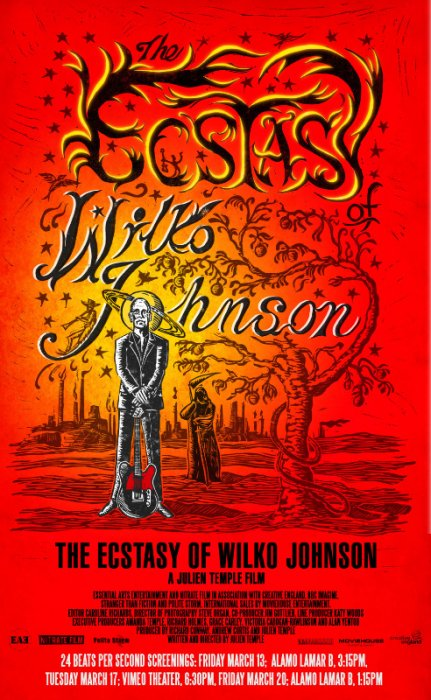 The Ecstasy of Wilko Johnson : Affiche