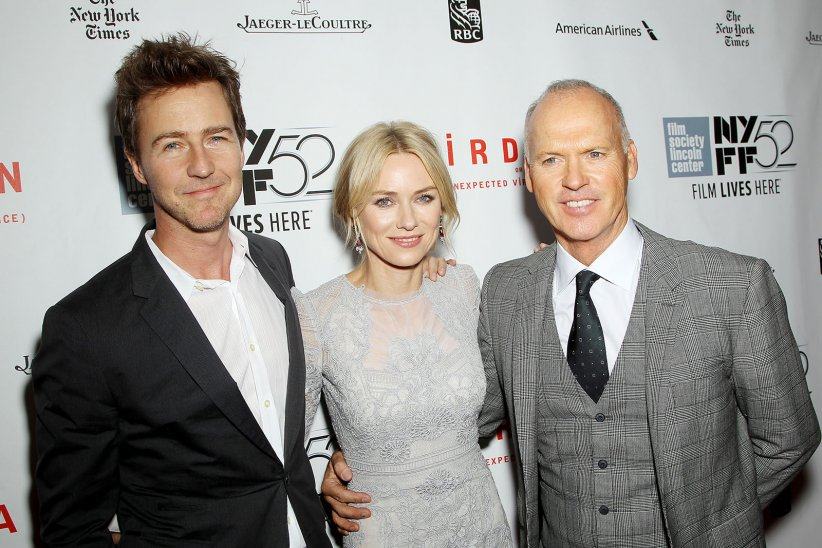 Birdman : Photo promotionnelle Edward Norton, Michael Keaton, Naomi Watts