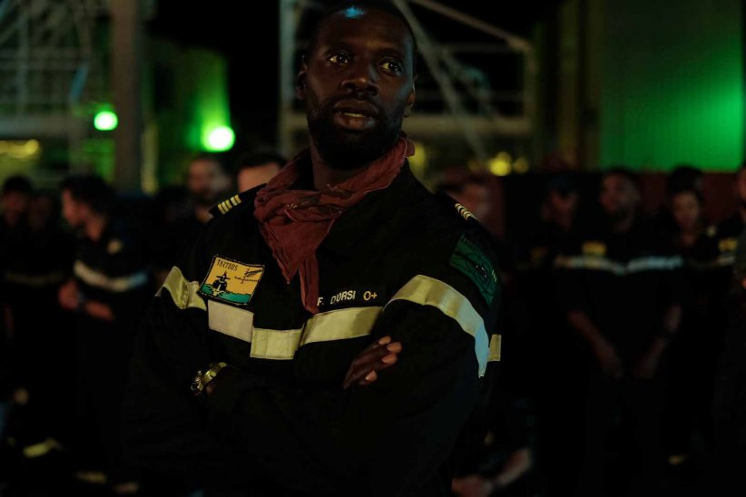 Le Chant du loup : Photo Omar Sy