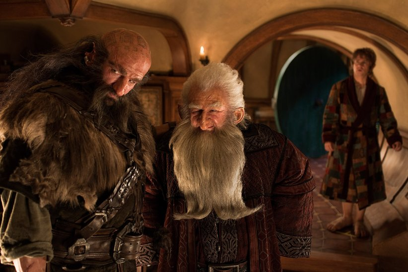 Le Hobbit : un voyage inattendu : Photo Graham McTavish, Ken Stott, Martin Freeman