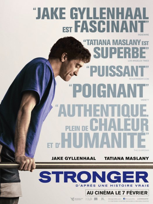 Stronger : Affiche