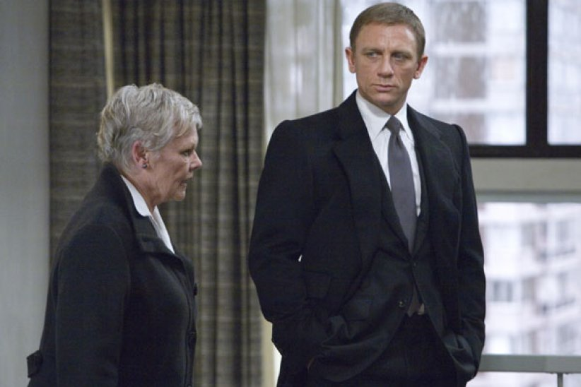 Quantum Of Solace : Photo Daniel Craig, Judi Dench