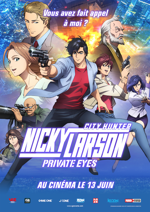 Nicky Larson Private Eyes : Affiche
