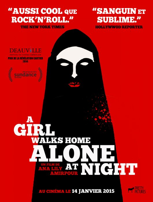 A Girl Walks Home Alone At Night : Affiche