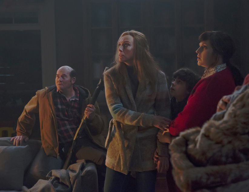 Krampus : Photo Allison Tolman, David Koechner, Emjay Anthony, Toni Collette