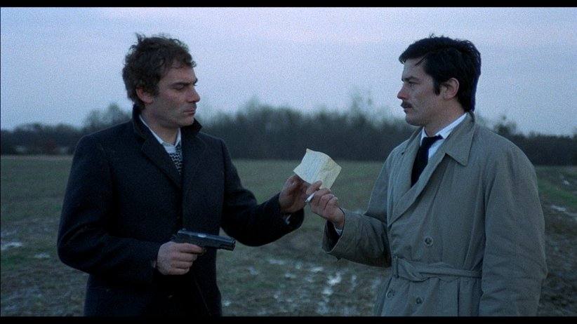 Le Cercle Rouge : Photo Alain Delon, Gian Maria Volonte