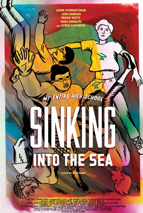 My Entire High School Sinking Into The Sea : Affiche