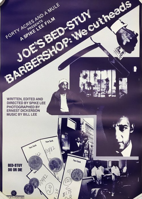 Joe's Bed-Stuy Barbershop: We Cut Heads : Affiche