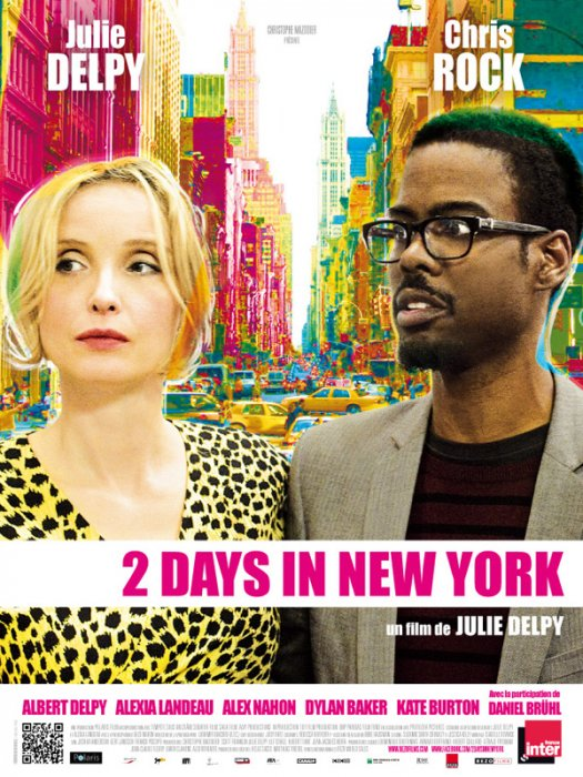 2 Days In New York : Affiche