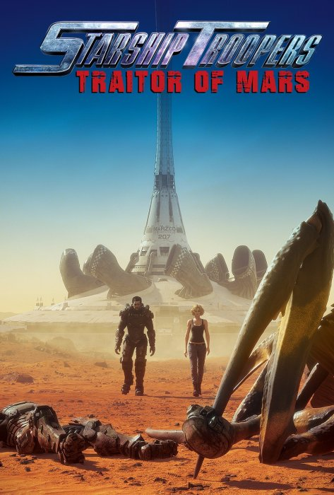 Starship Troopers: Traitor of Mars : Affiche