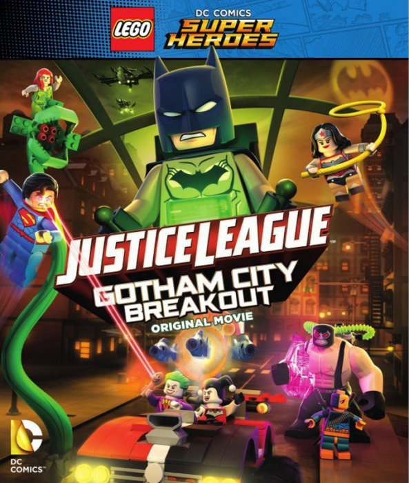 Lego DC Comics Super Heroes: Justice League - Gotham City Breakout : Affiche