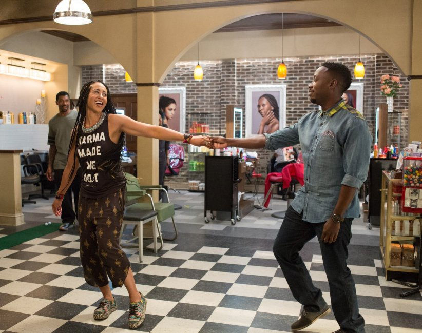 Barbershop: The Next Cut : Photo Deon Cole, Lamorne Morris, Margot Bingham