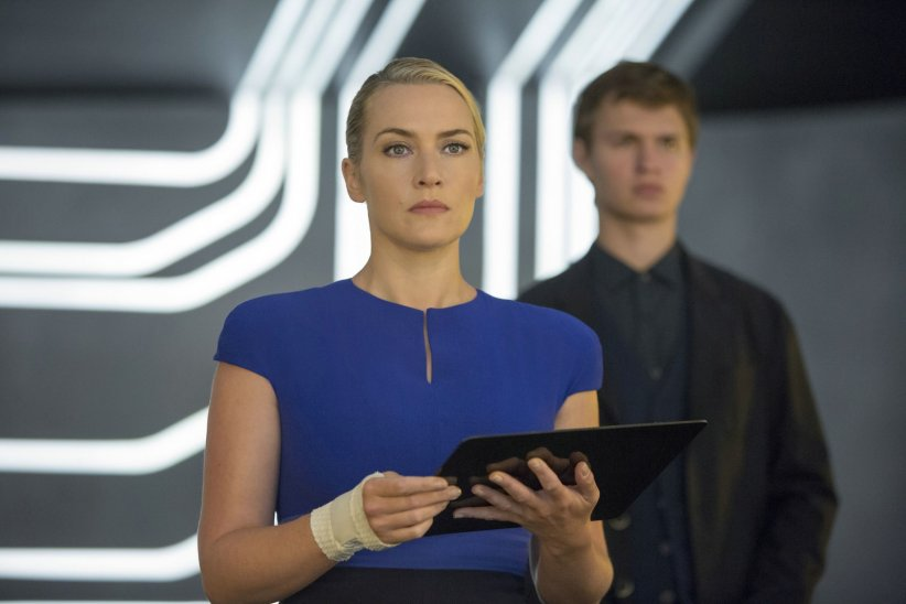 Divergente 2 : l'insurrection : Photo Ansel Elgort, Kate Winslet